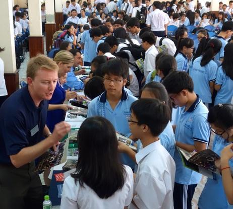 Attending International Boarding School Fairs