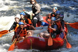Our Sixth Formers start off the year with a class bonding trip to Maine for some white water rafting.