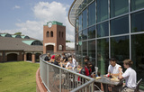 The College Cafe' is a favorite hangout spot for students at all times of the day and night.