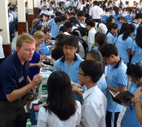 Attending International Boarding School Fairs