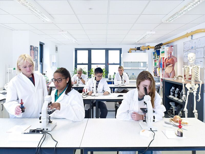 EF Academy Torbay Photo #4 - The biology lab of EF Academy Torbay makes learning an enriching experience.