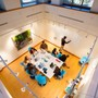 Mercersburg Academy Photo #5 - Meeting in the Springboard Lab, an open, collaborative classroom space designed for one of Mercersburg's senior capstone courses