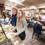 Lake Tahoe Preparatory School Photo #9 - LTP serves house-made meals. A fresh salad bar is available each day, and there are ample, year-round fresh fruits and snacks between meals. We also offer vegetarian options and can accommodate some special dietary needs.