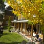 Squaw Valley Academy Photo #2 - The SVA Courtyard separates the dormitories and gives students a quiet place to converse.