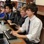 St. Michaels University School Photo #6 - Our library offers access to technology and study space for individuals and groups.