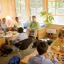Eaglebrook School Photo - At the heart of the school is the shared life of teachers, their families, and boys working together. This is the common room of Halsted House, one of five dormitories on campus.